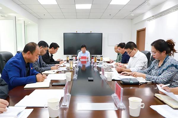 学院党委会议传达学习全省教育工作相关会议精神